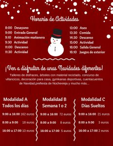 Escuela Urbana de Navidad