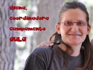 Elena Martín, Coordinadora Campamento AULA