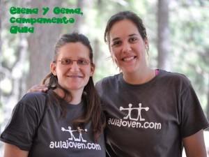 Elena y Gema, ¡las que mandan en el Aula!